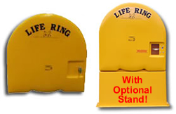 Fiberglass Life Ring Cabinets, Ring Buoy Cabinets by Cheyenne ...