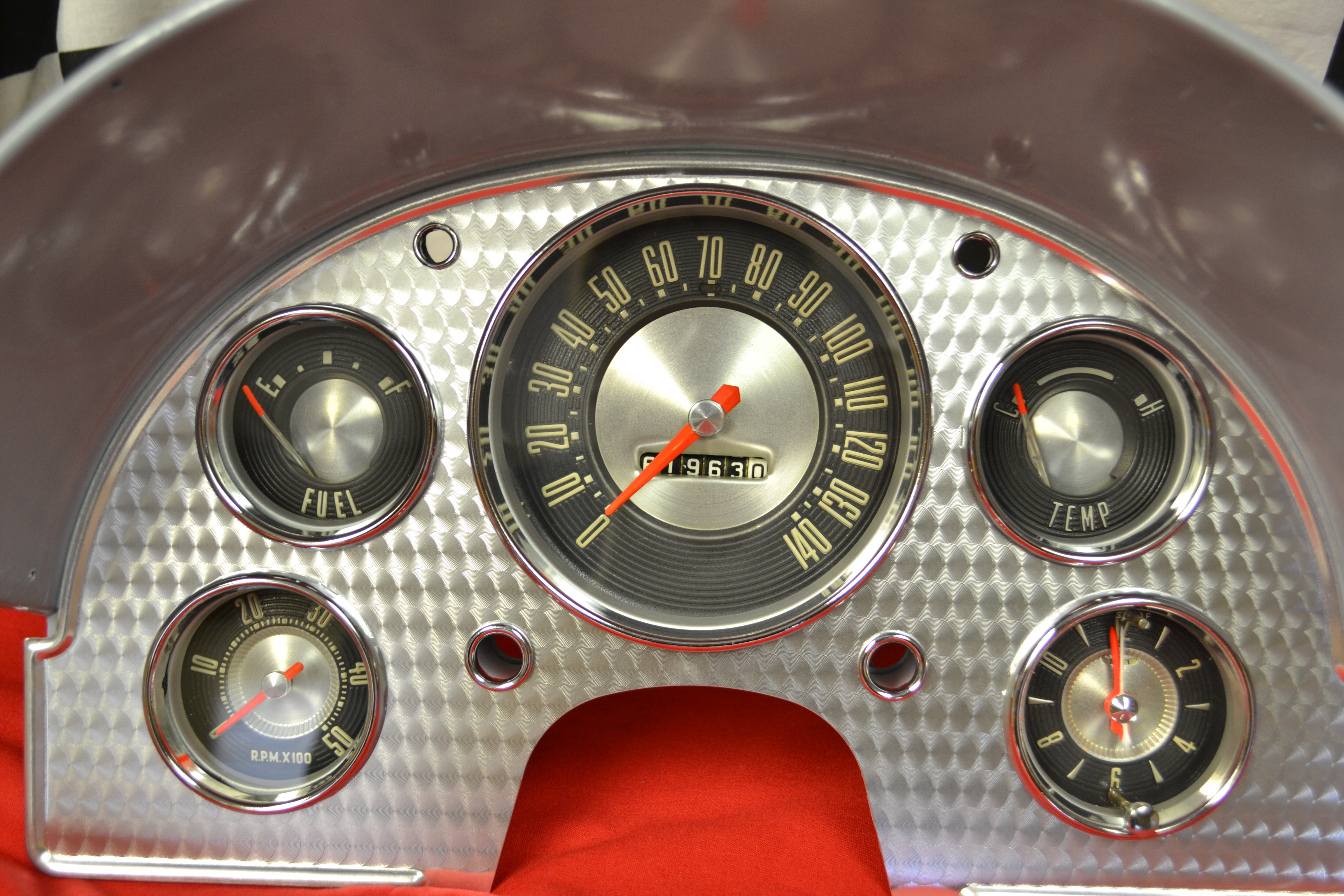 Tachometer Repair Speedometer Instrument Services 1955 Ford F100 Pick Up Gauge Cluster